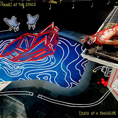 CD PANIC! AT THE DISCO - DEATH OF THE BACHELOR