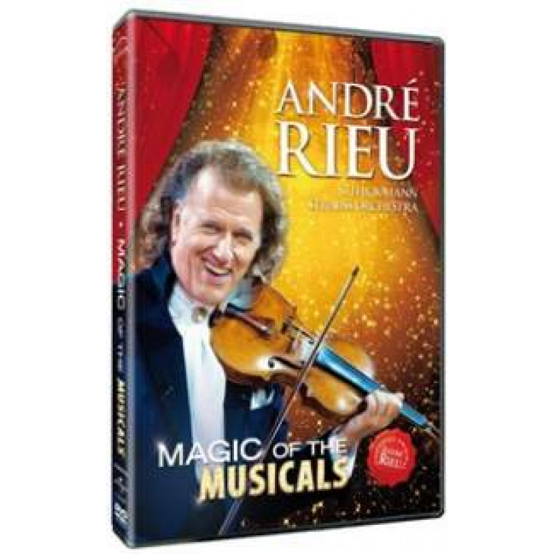 DVD RIEU ANDRE - MAGIC OF THE MUSICALS