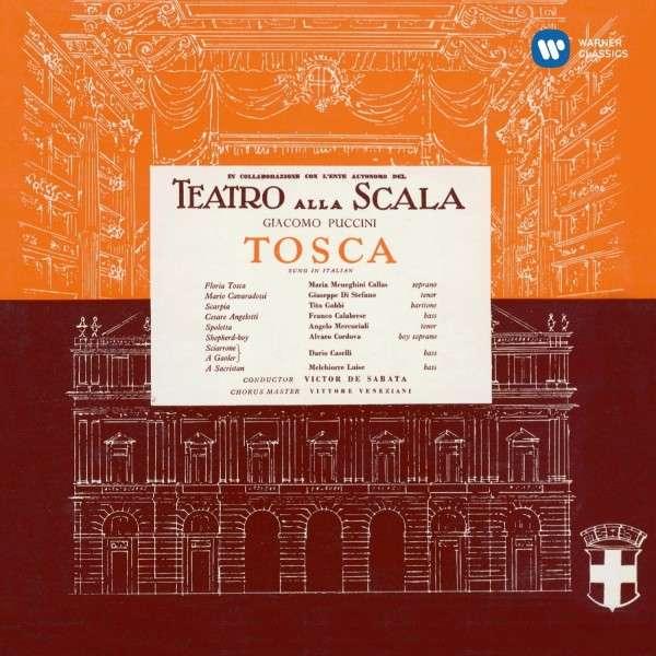 CD CALLAS, MARIA/GIUSEPPE DI STEFANO/TITO GOBBI/CHORUS & ORCHESTRA OF LA SCALA MILAN/VICTOR DE SABATA - PUCCINI: TOSCA (1953)