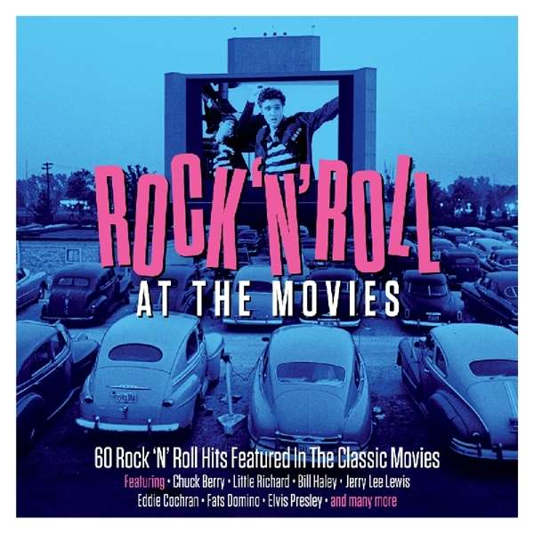 CD V/A - ROCK'N'ROLL AT THE MOVIES