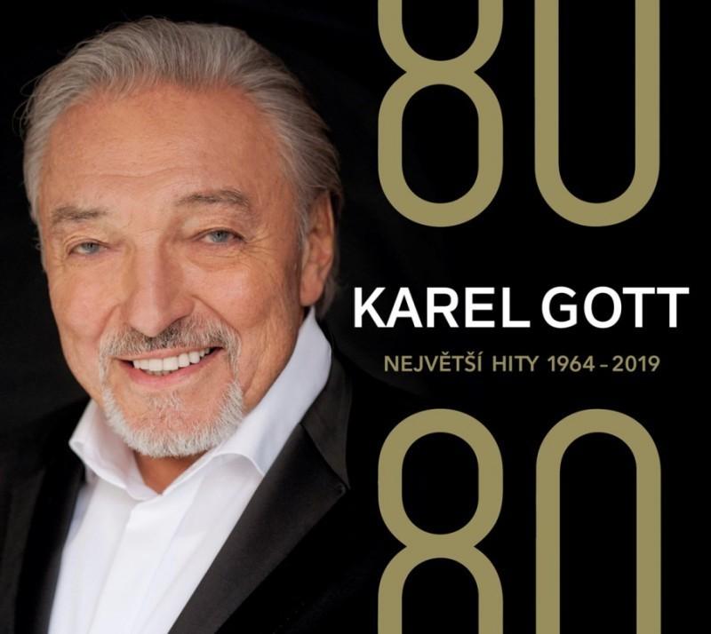 Karel Gott - CD 80/80 Největší hity 1964-2019