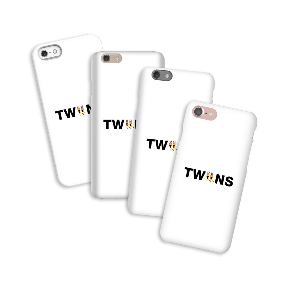 Twiins - Kryt na telefón Emoji - Iphone 7