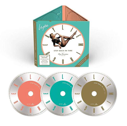Kylie Minogue - CD Step Back in Time: The Definitive Collection