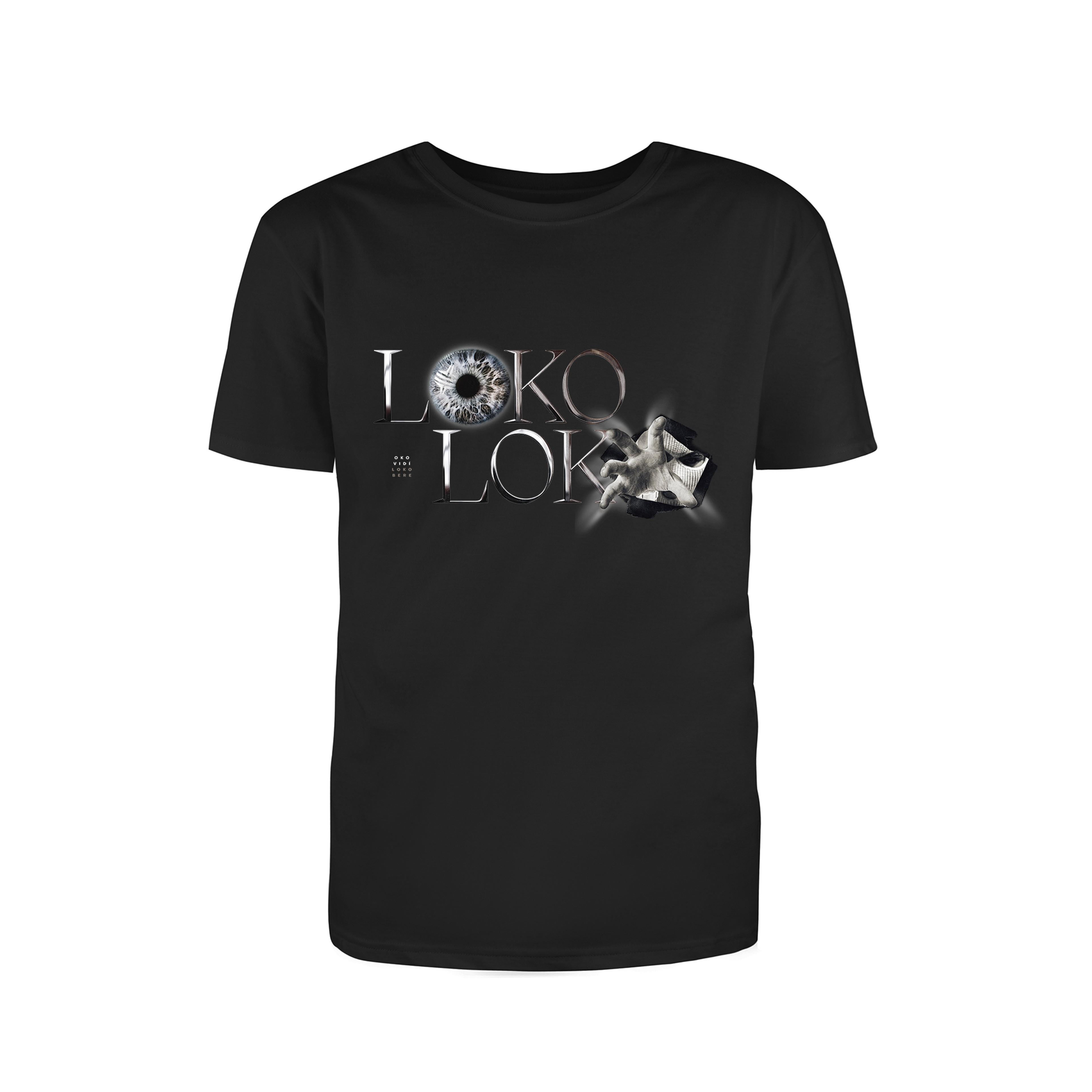Loko Loko - Tričko Loko Bere - Muž, Čierna, XXL