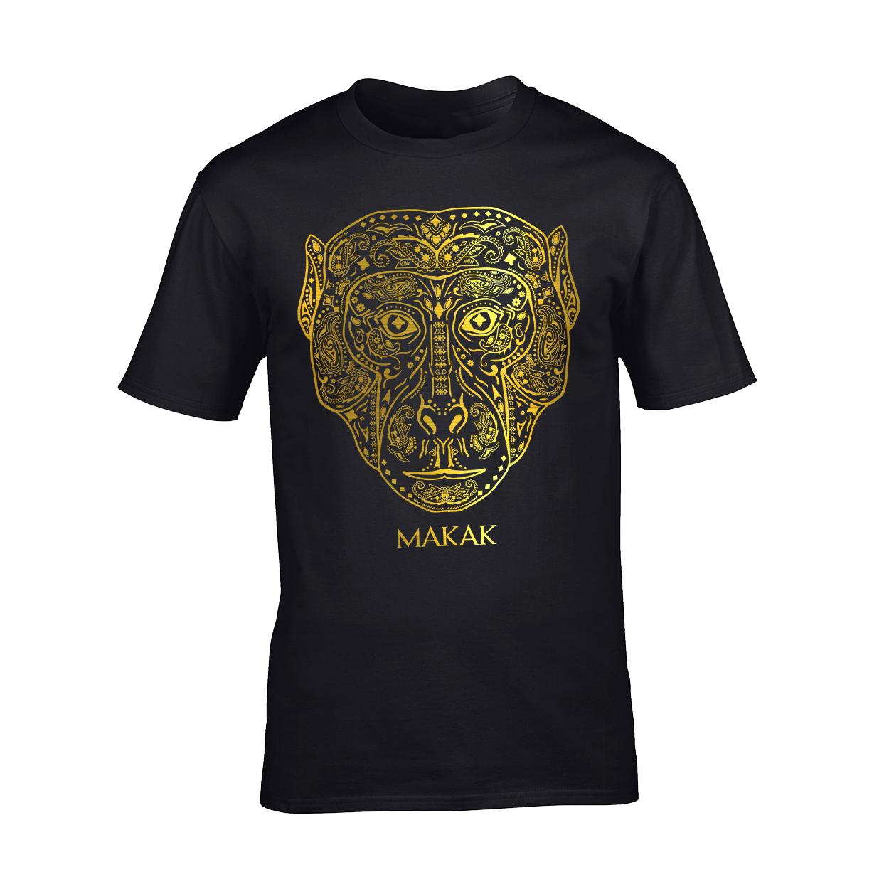 Makak - Tričko Odkaz - Muž, Čierna, M