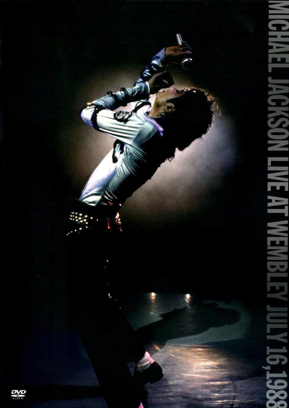 Michael Jackson - DVD Live At Wembley July 16, 1988