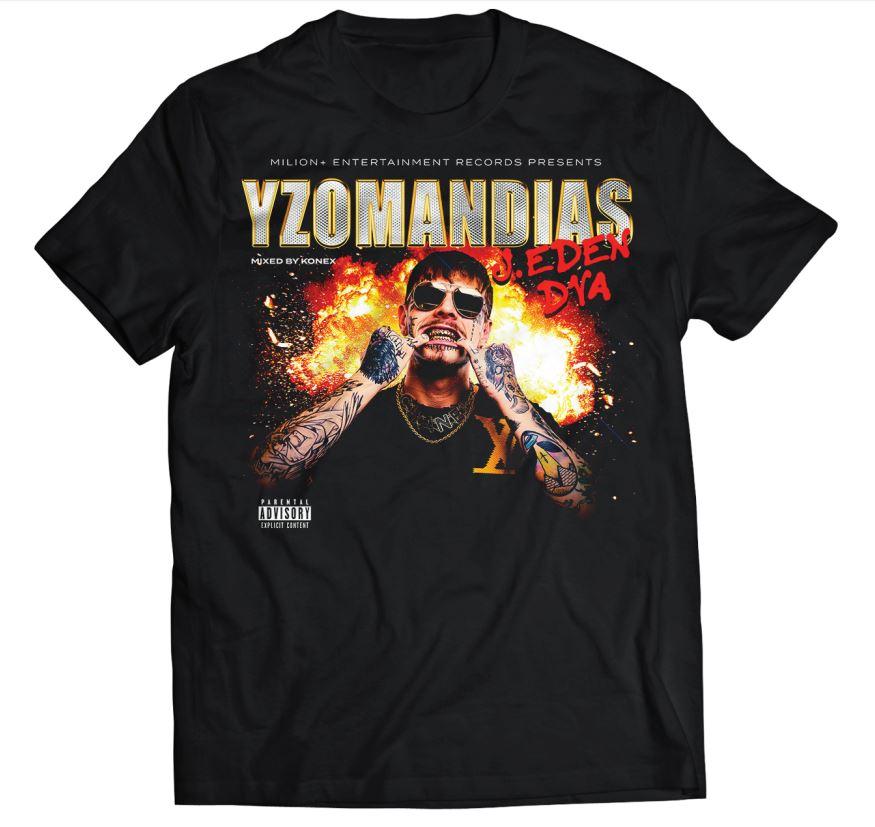 Yzomandias - Tričko J. Eden 2 - Muž, Čierna, L