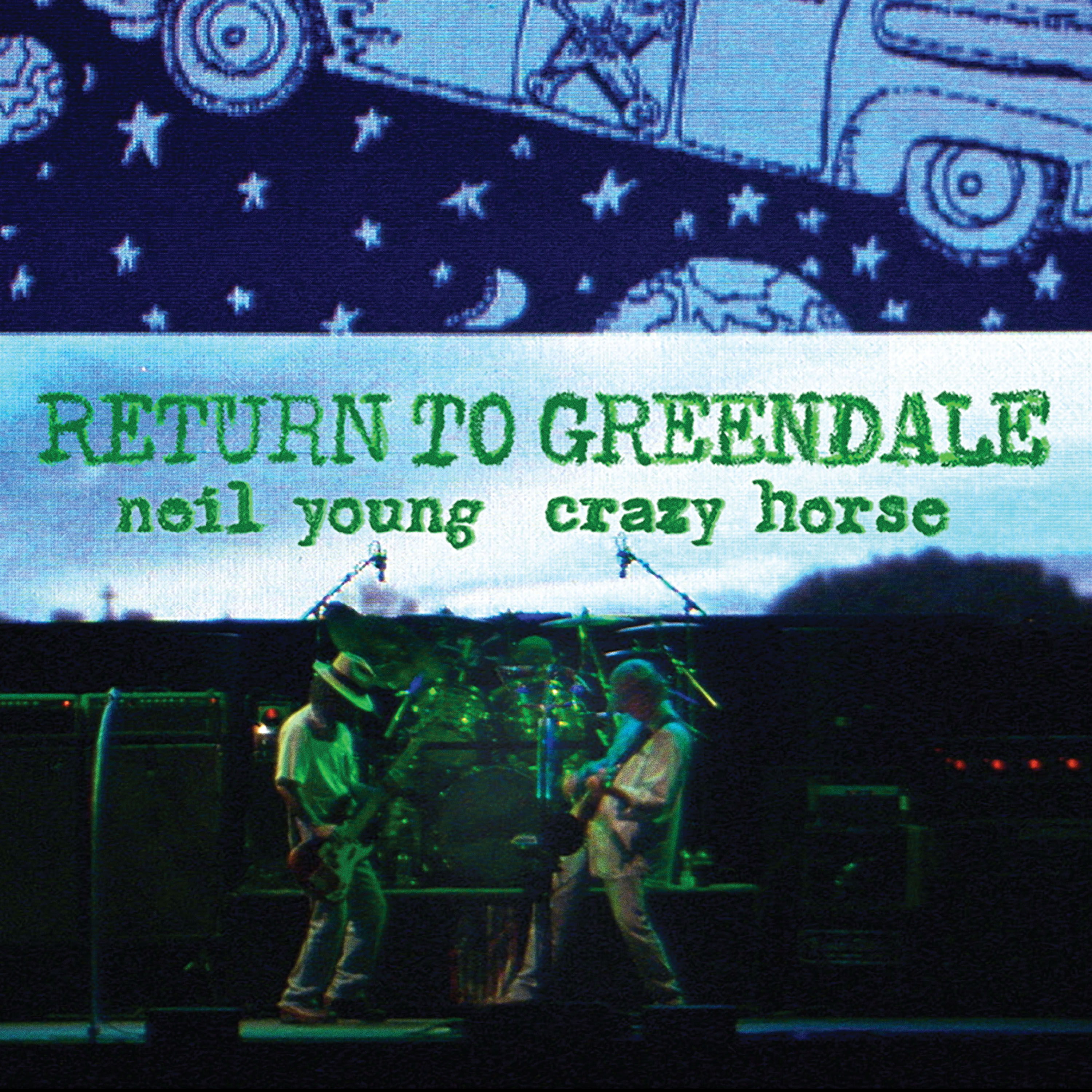 Neil Young & Crazy Horse - CD RETURN TO GREENDALE