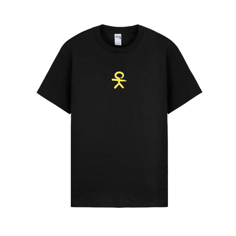 Nerieš - Tričko OK Basic - Muž, Čierna, XXL