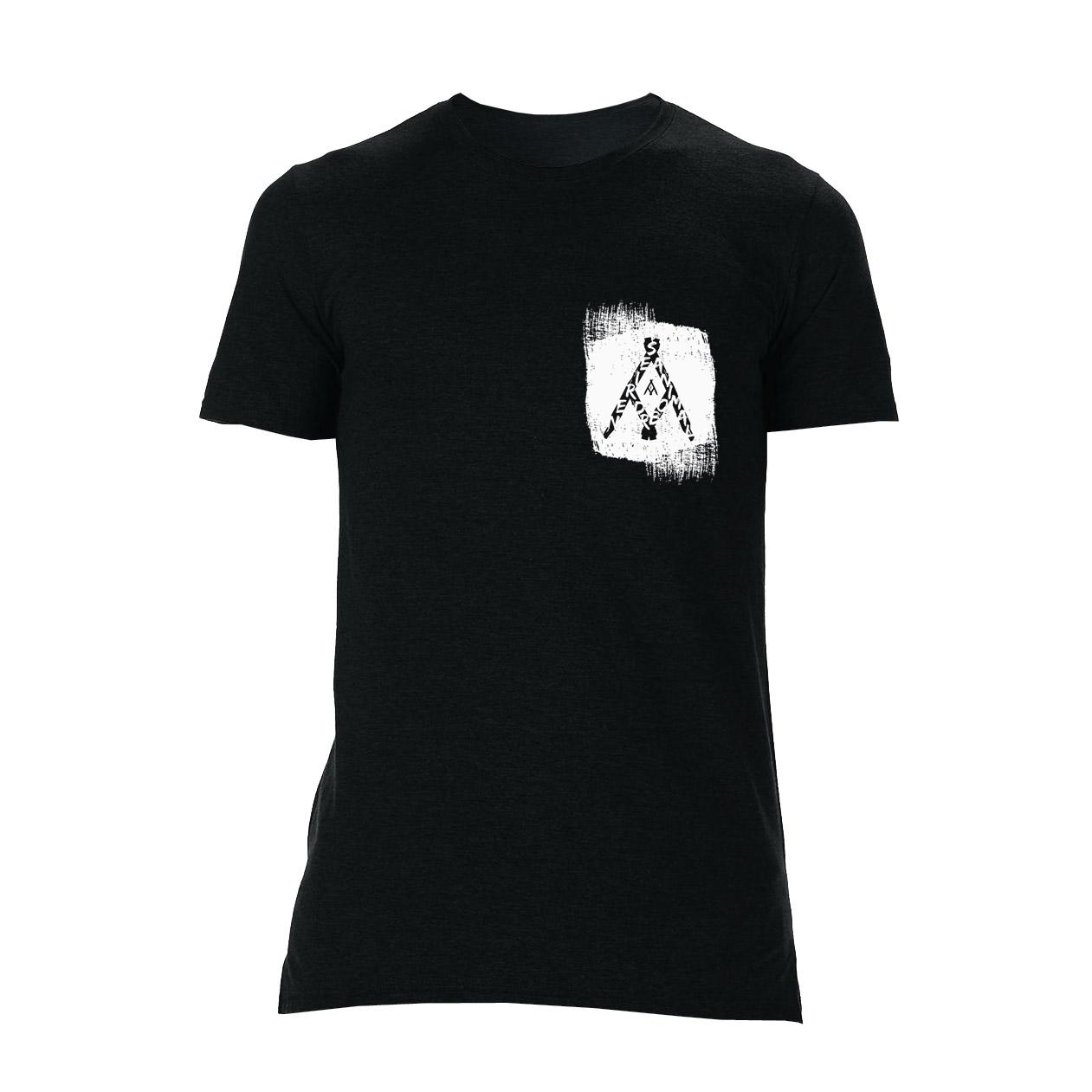 Nerieš - Tričko Animal Paintwork - Muž, Čierna, L