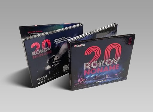 No Name - CD 20 Rokov (Live Koncert) (CD+DVD)
