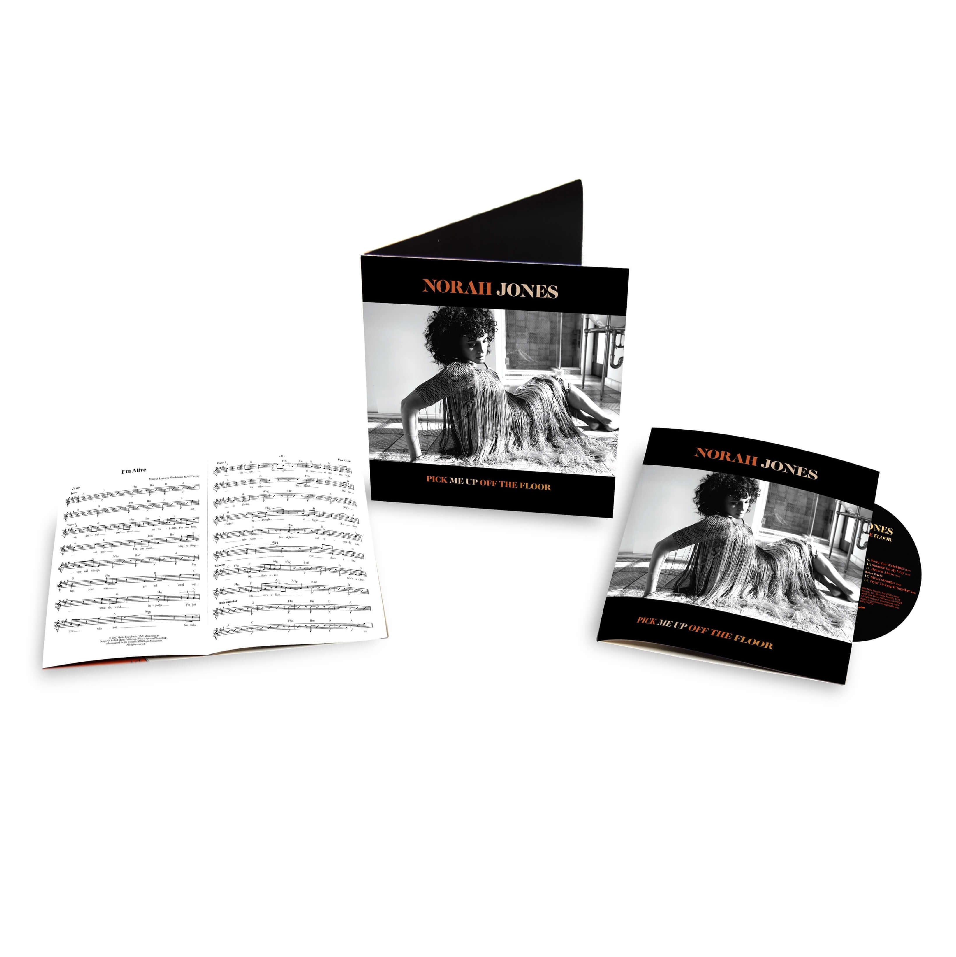 Norah Jones - CD Pick Me Up Off The Floor (Ltd. Deluxe Edition)