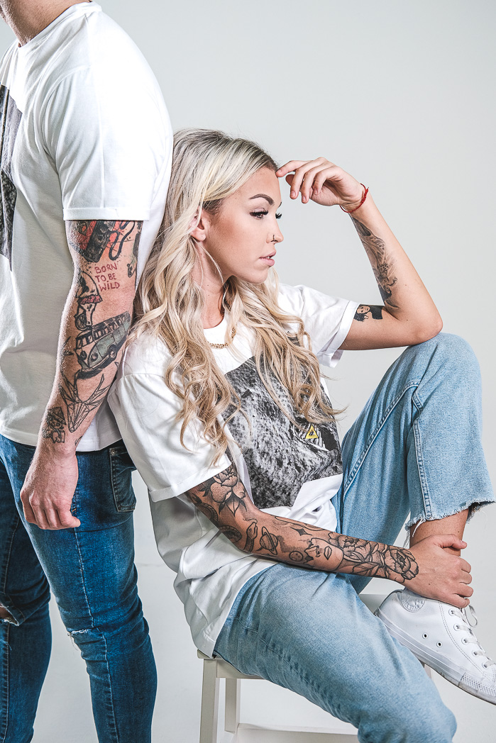 Tričko FOOTPRINT ZOOM IN triko