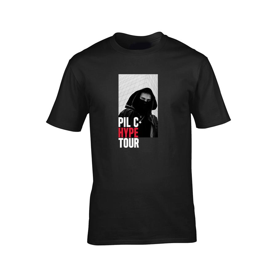 Pil C - Tričko Hype Tour - Rukahore Shop 8458c8750e4