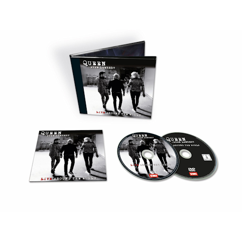 Queen - CD + Adam Lambert - Live around the world (CD+DVD)