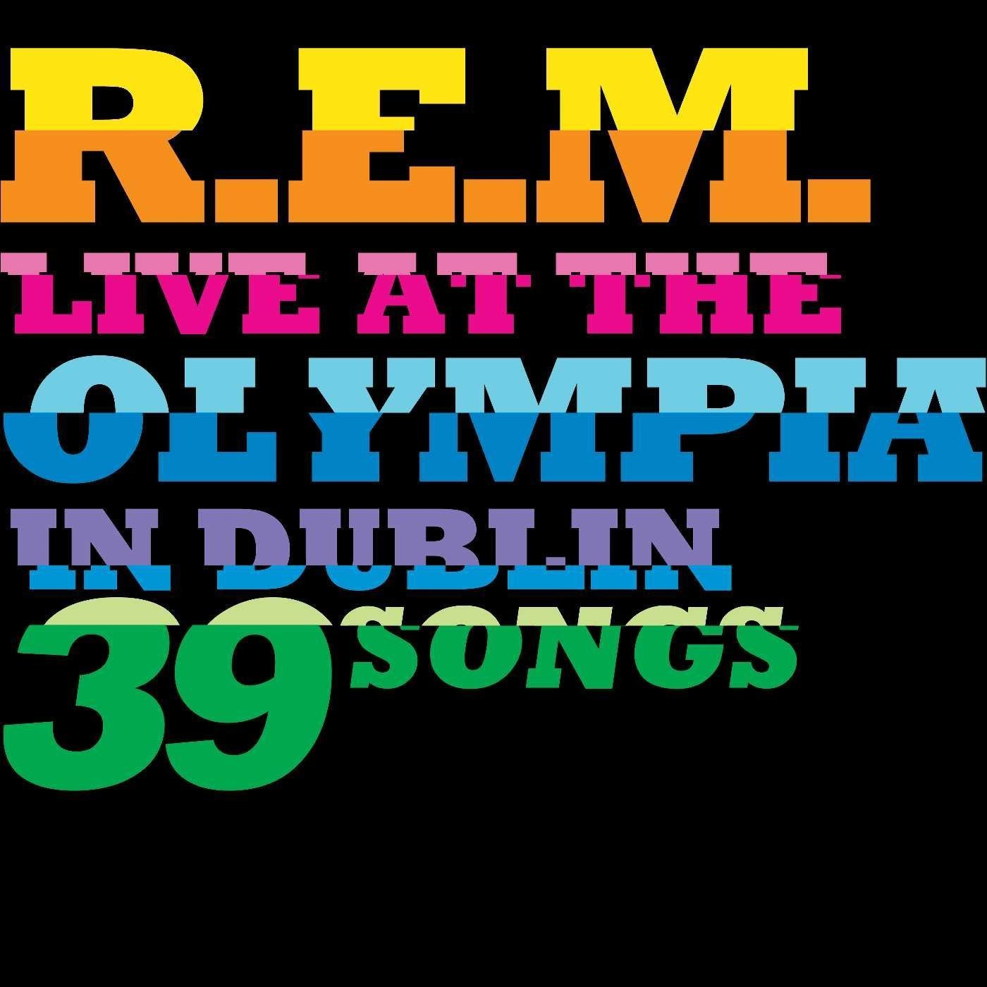 R.E.M. - CD Live At The Olympia In Dublin 39 Songs