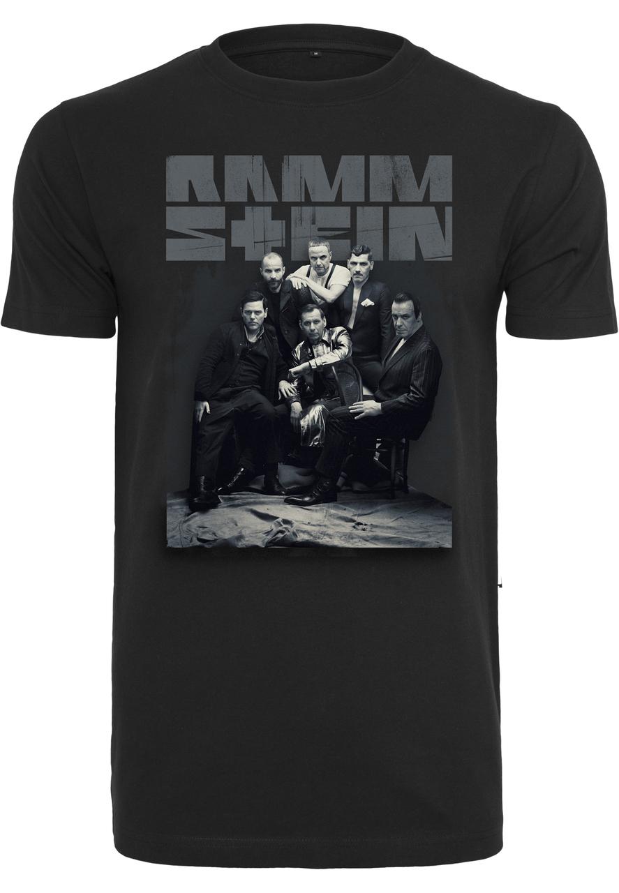 Rammstein - Tričko Band Photo Tee - Muž, Čierna, XXL