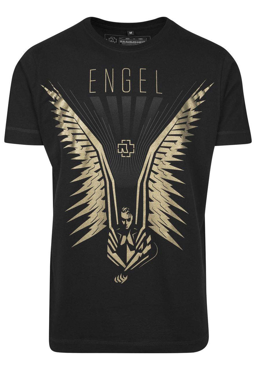 Rammstein - Tričko Flügel Tee - Muž, Čierna, XXL