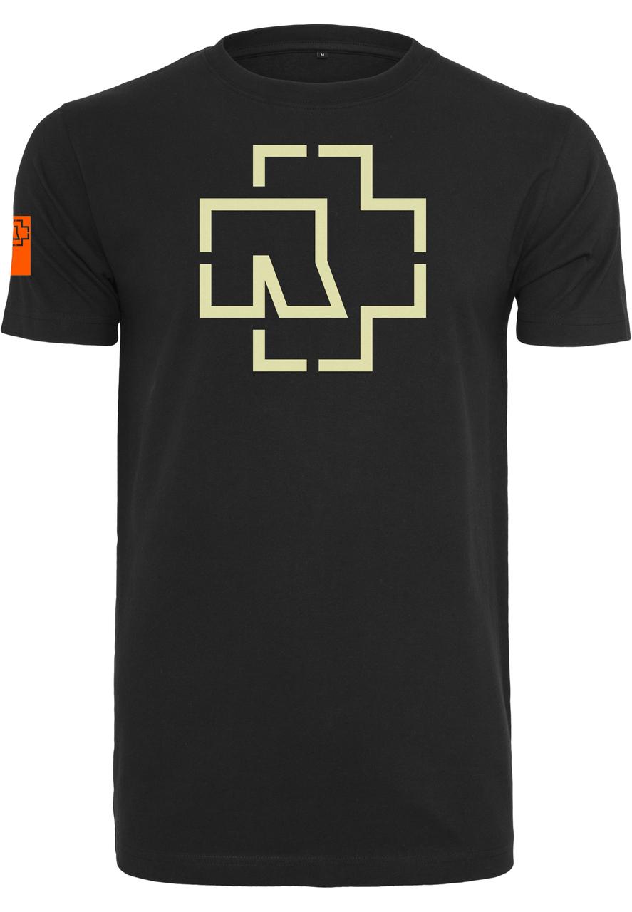 Rammstein - Tričko Logo Tee - Muž, Čierna, XXL