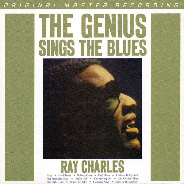 Ray Charles - Vinyl The Genius Sings The Blues (Mono)