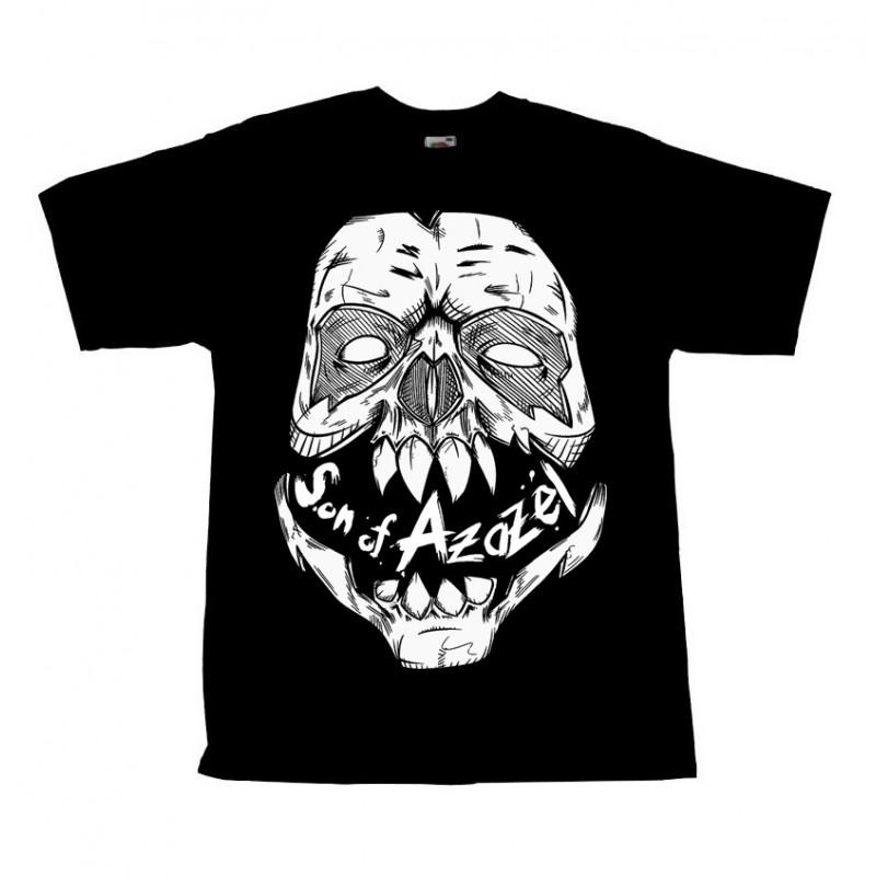 Řezník - Tričko Son Of Azazel Skull - Muž, Čierna, XXL