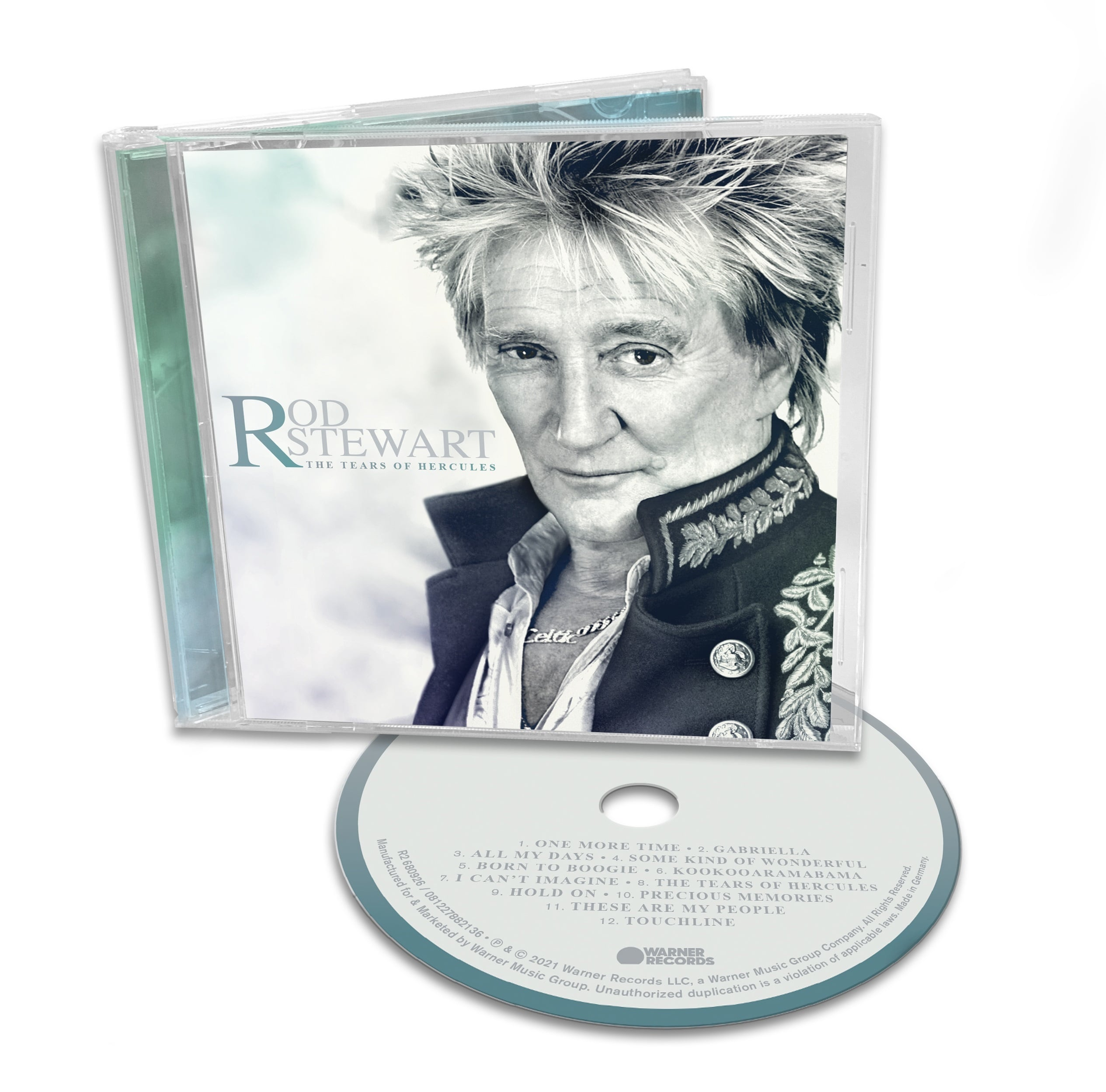 Rod Stewart - CD THE TEARS OF HERCULES