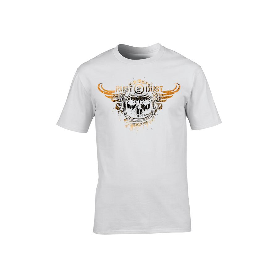 Rust 2 Dust - Tričko Logo - Muž, Biela, S