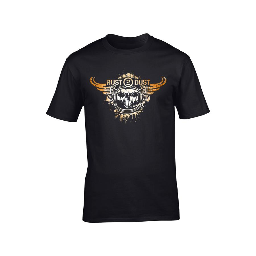 Rust 2 Dust - Tričko Logo - Muž, Čierna, XXL
