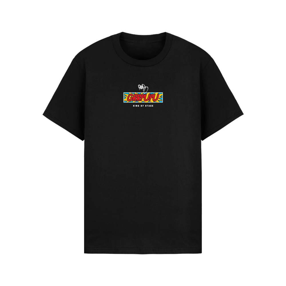 Separ - Tričko Grr Pu Pu (Basic) - Muž, Čierna, S