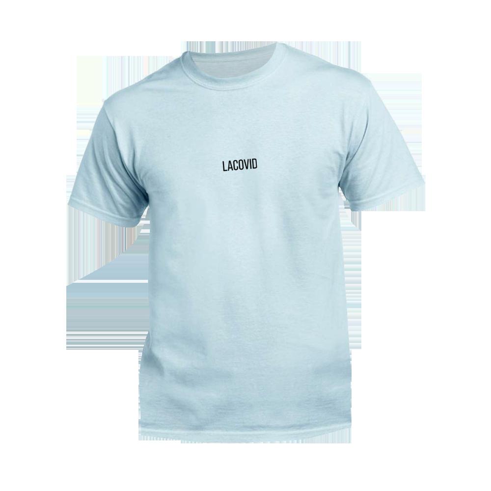 Smart DMS - Tričko Lacovid - Muž, Baby modrá, S