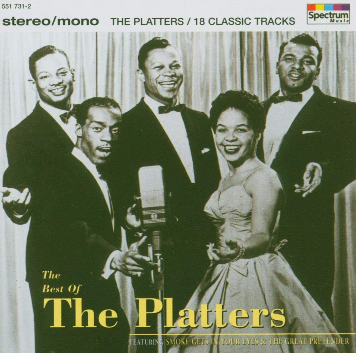 The Platters - CD The Best Of The Platters