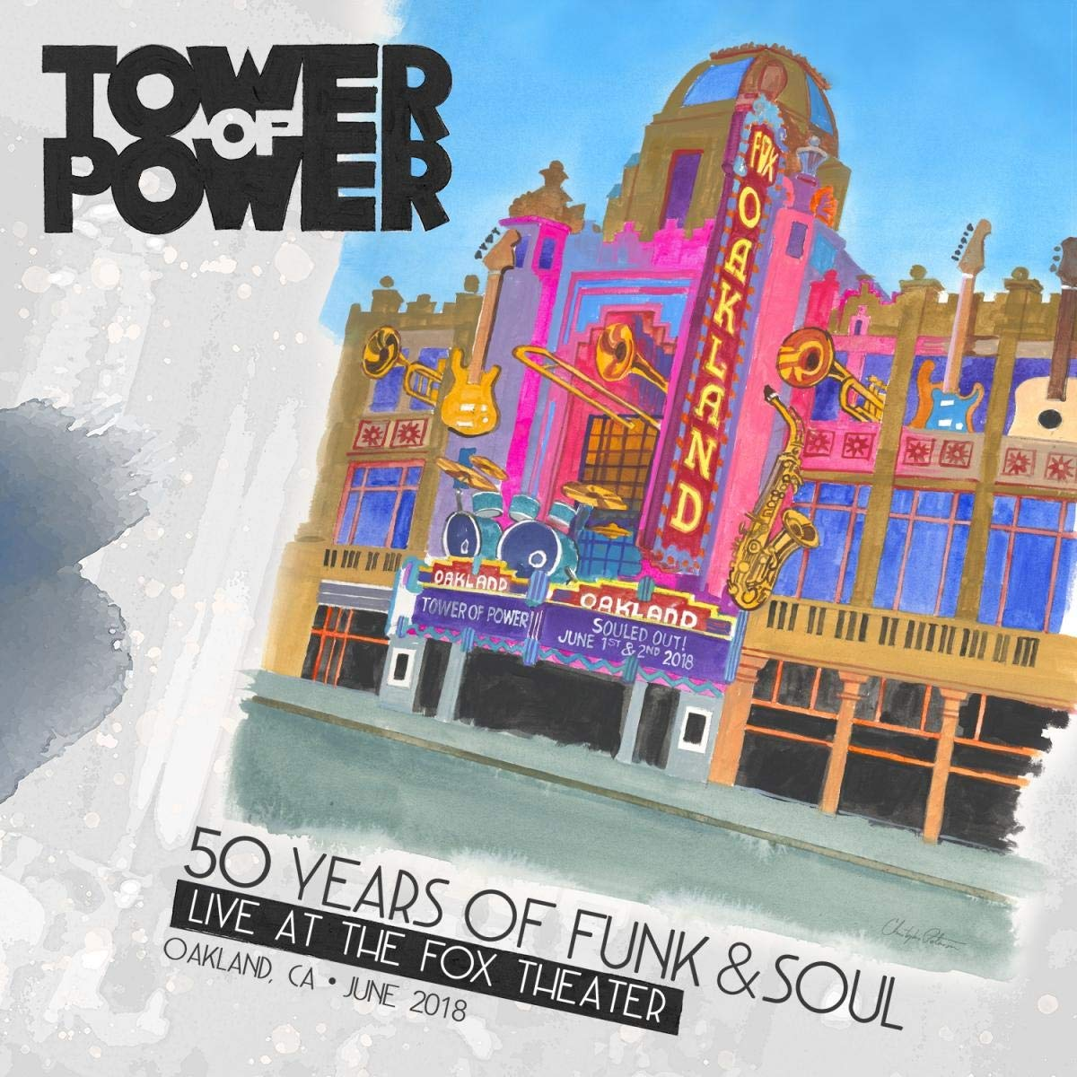 Tower Of Power - CD 50 Years Of Funk & Soul: Live At The Fox Theater