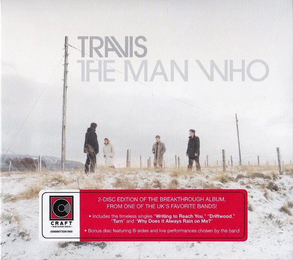 Travis - CD THE MAN WHO