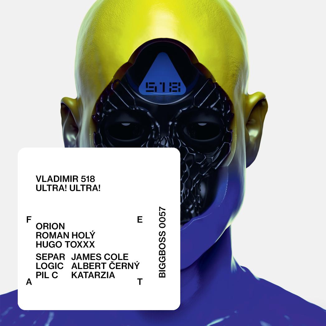 Vladimir 518 - CD Ultra! Ultra!