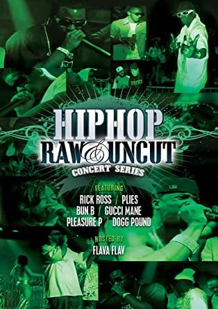 Various - DVD Hip Hop Raw & Uncut Concert Series