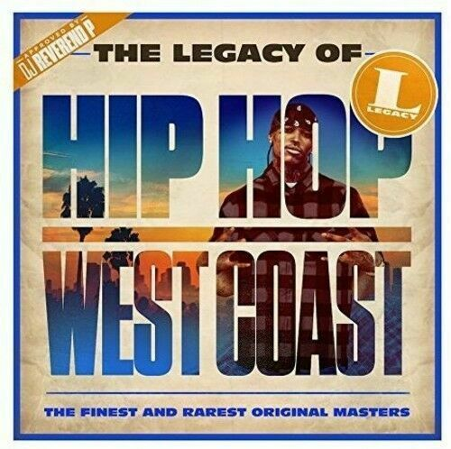 Výberovka - CD The Legacy of Hip Hop West Coast