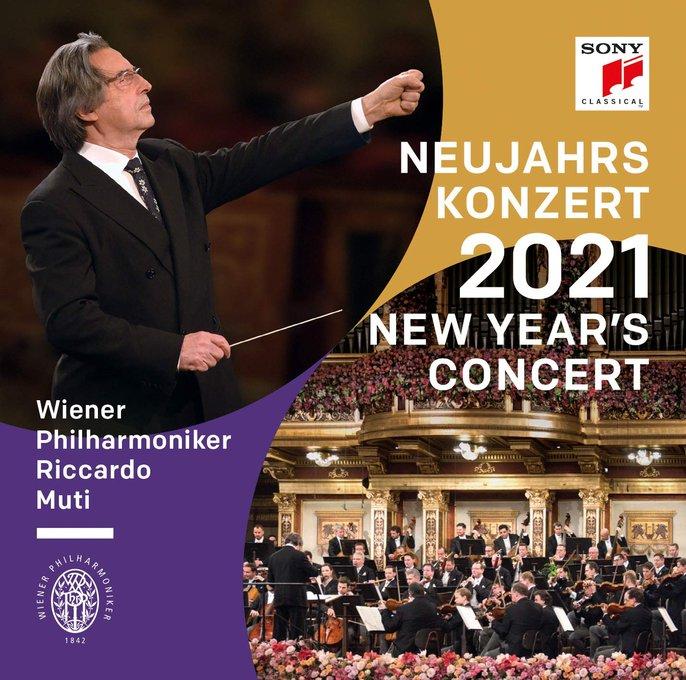 Various - CD Neujahrs Konzert 2021 (New Year's Concert 2021) Wiener Philharmoniker Riccardo Muti