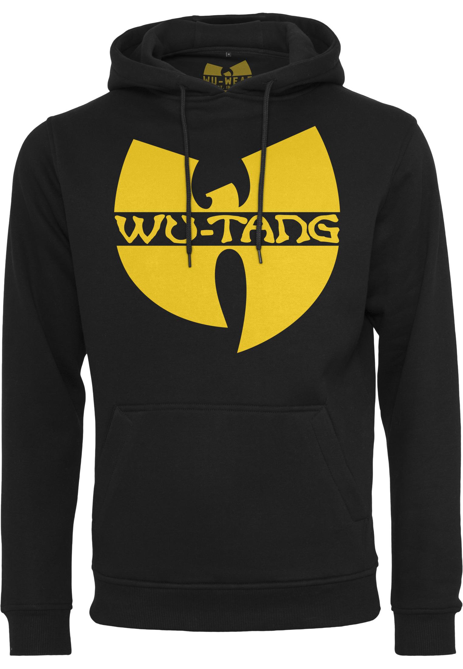 Wu-Tang Clan - Mikina Logo. - Muž, Čierna, XXL