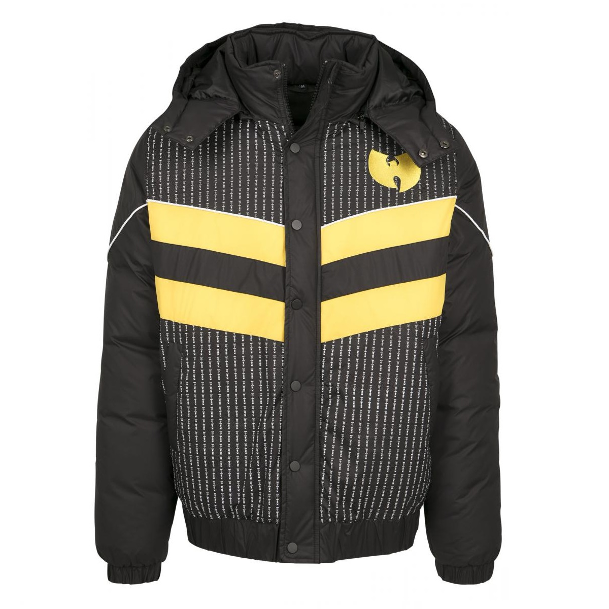 Wu-Tang - Bunda Puffer Jacket - Muž, Čierna, XS