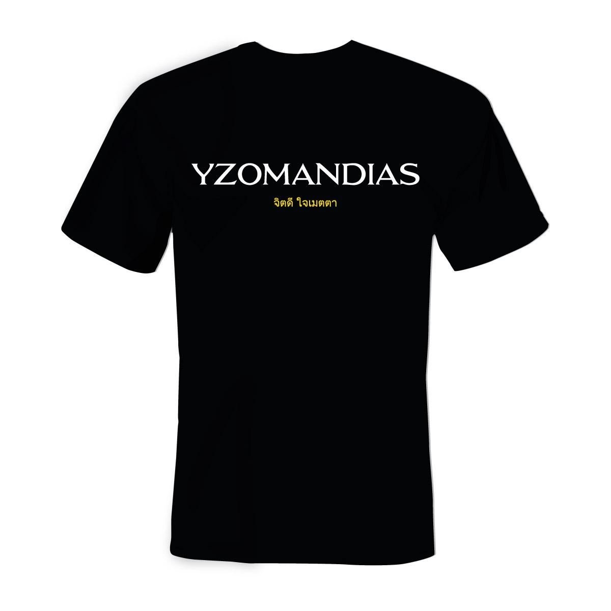 Yzomandias - Tričko Dobrá Duše Srdce ze Zlata - Muž, Čierna, L